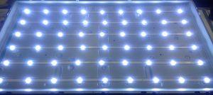 Internals of an LED TV