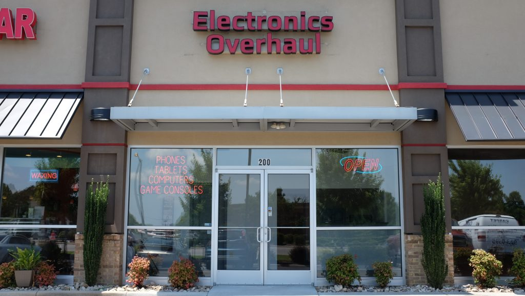 Storefront of Electronics Overhaul